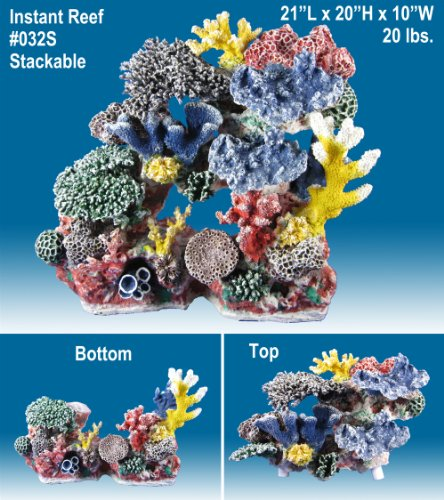Instant Reef R032s Artificial Coral Reef Aquarium Decor For