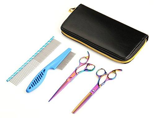 Alfheim Professional 7 Inch Pet Hair Grooming Scissors