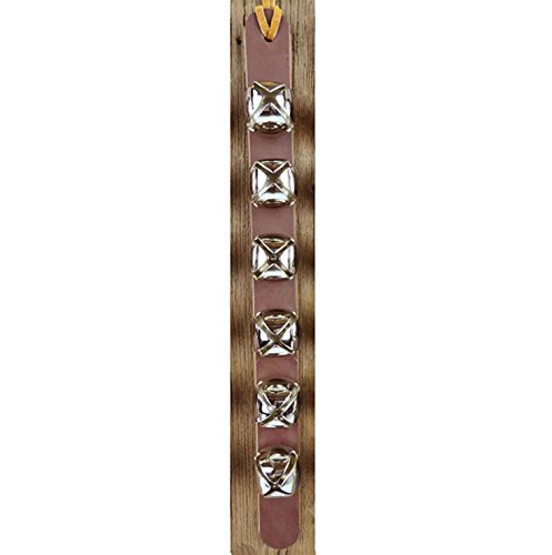 Nohma Leather 6 Arctic Sleigh Bell Leather Strap Door