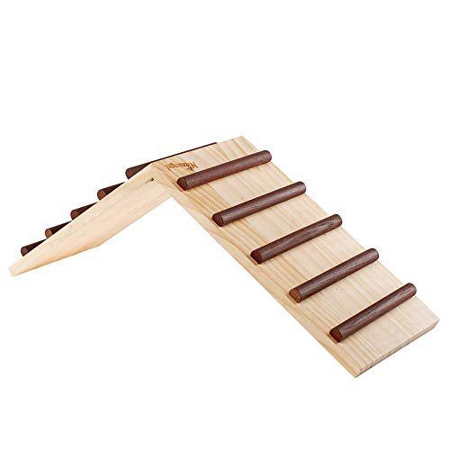 Niteangel Wooden Cage Bridge For Rabbits Guinea Pigs And Chinchilla Large Size Pet Supply